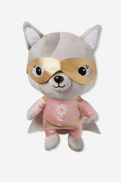 Sunny Buddy 30Cm Medium Plush Toy, AVA SUPERHERO