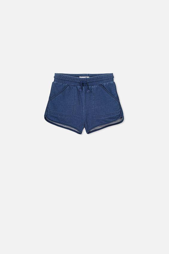 Nina Knit Short, MID BLUE