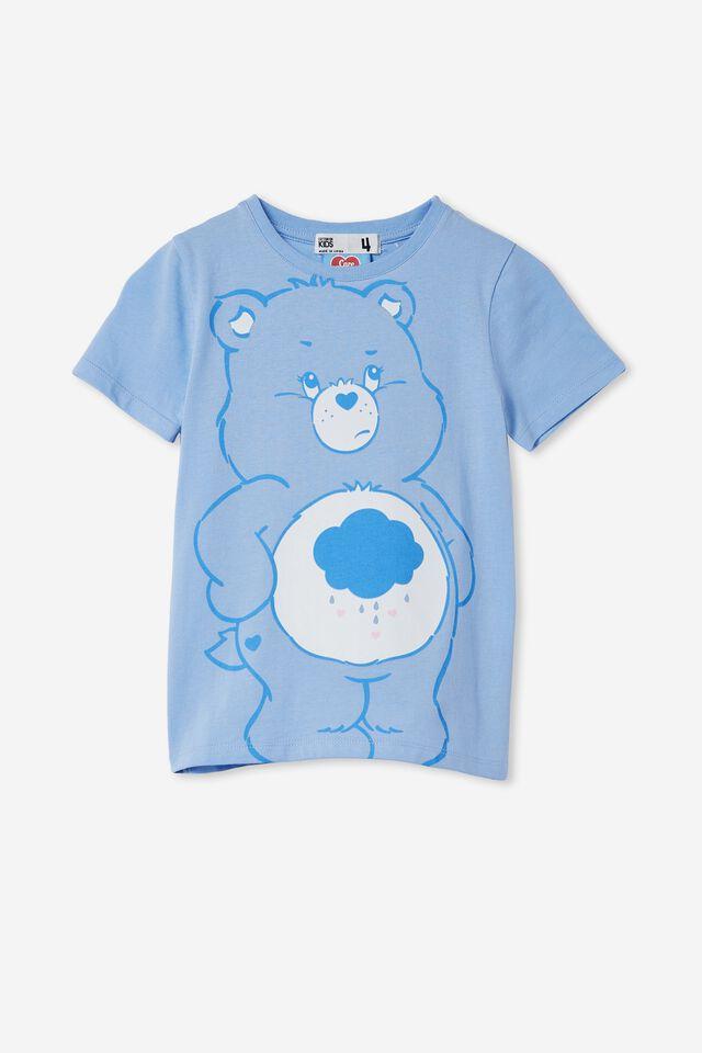 License Short Sleeve Tee, LCN CLC CARE BEARS/DUSK BLUE