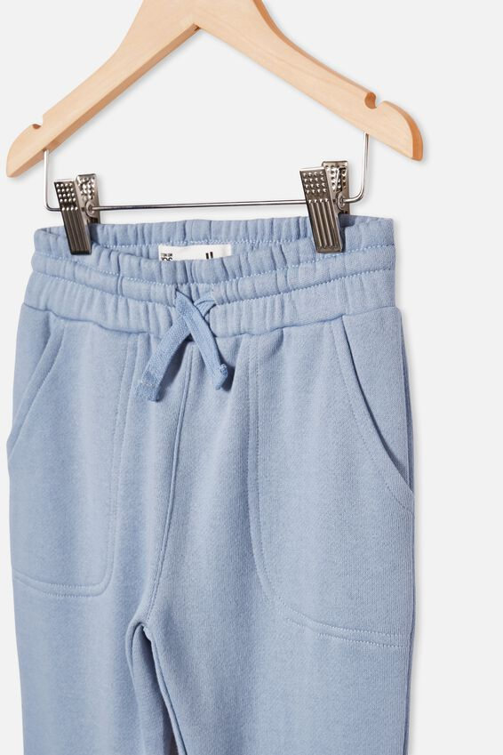 Heritage Trackpant, DUSTY BLUE/SURF MORE