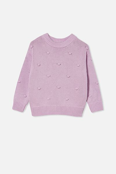 Pepper Knit Jumper, PALE VIOLET