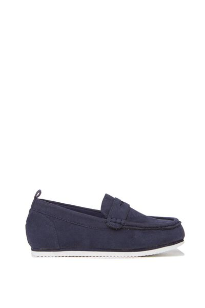 Billy Boat Shoe, NAVY
