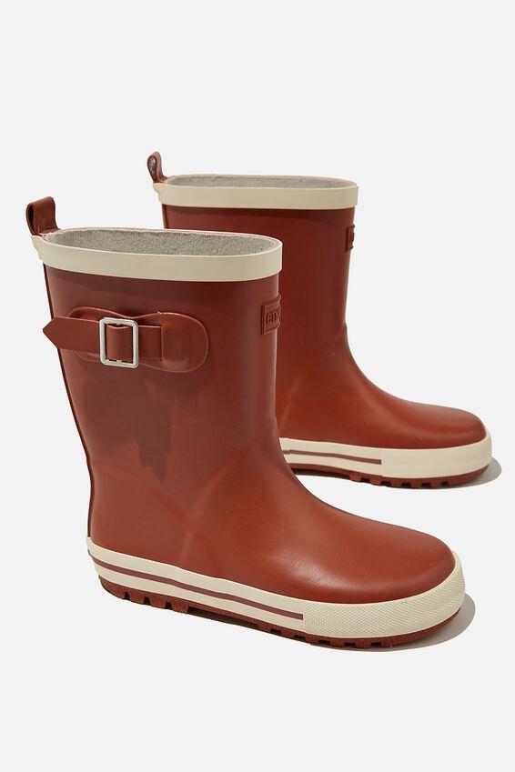 Fashion Gumboots, CHUTNEY ECRU