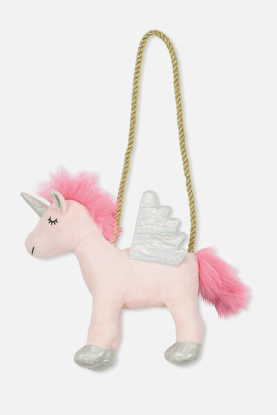 Plush Animal Bag, PEGACORN