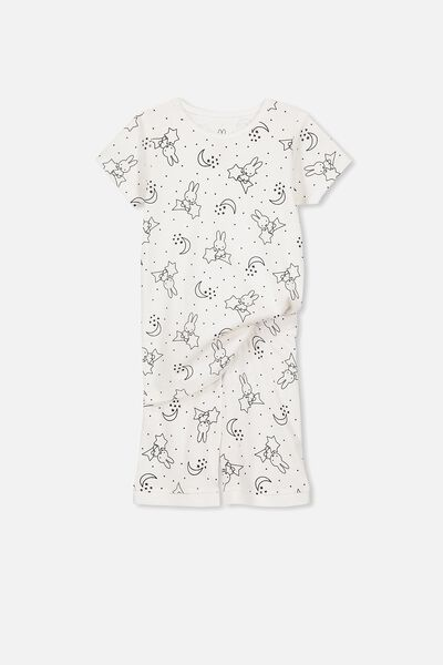 Nicole Short Sleeve Girls Pj, NIGHT NIGHT MIFFY