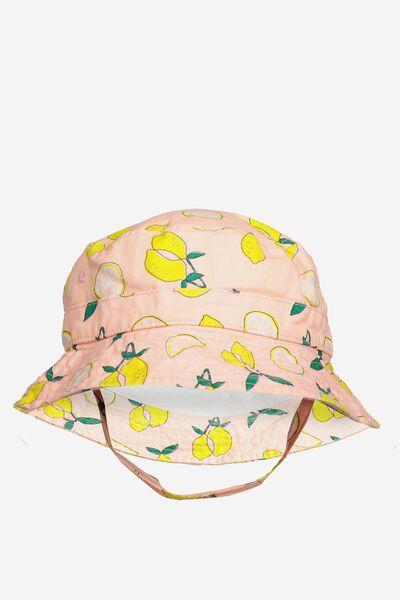 Baby Bucket Hat, LEMONS