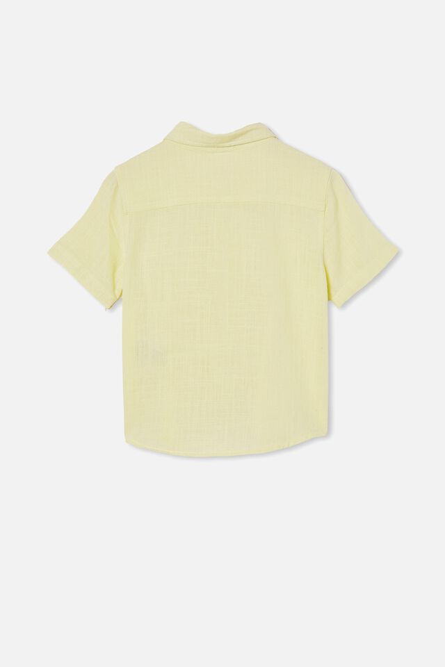 Resort Short Sleeve Shirt, LEMONADE