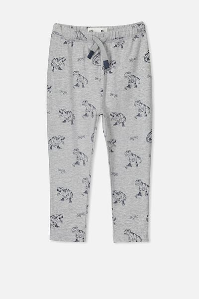 Brooklyn Slouch Pant, GREY MARLE DINO
