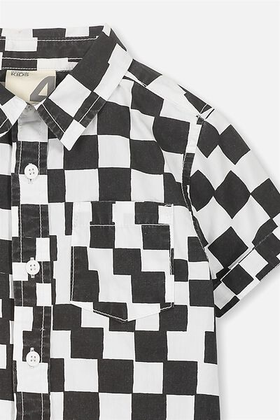 Jackson Short Sleeve Shirt, CHECK MATE