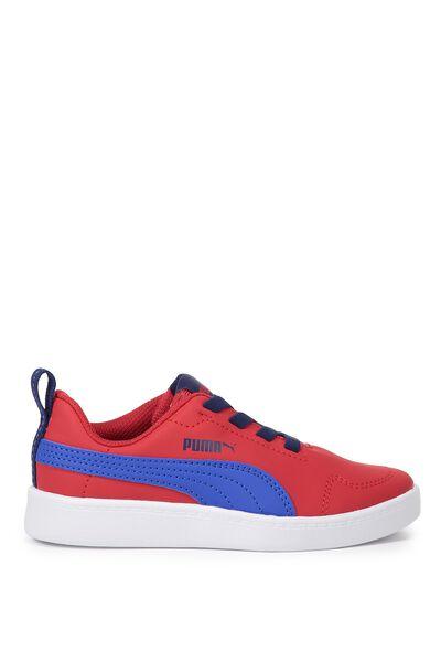 Courtflex Mesh Puma, RED TOREADOR-LAPIS BLUE