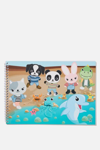 Sunny Buddy A4 Sketch Book, ROCK POOLING