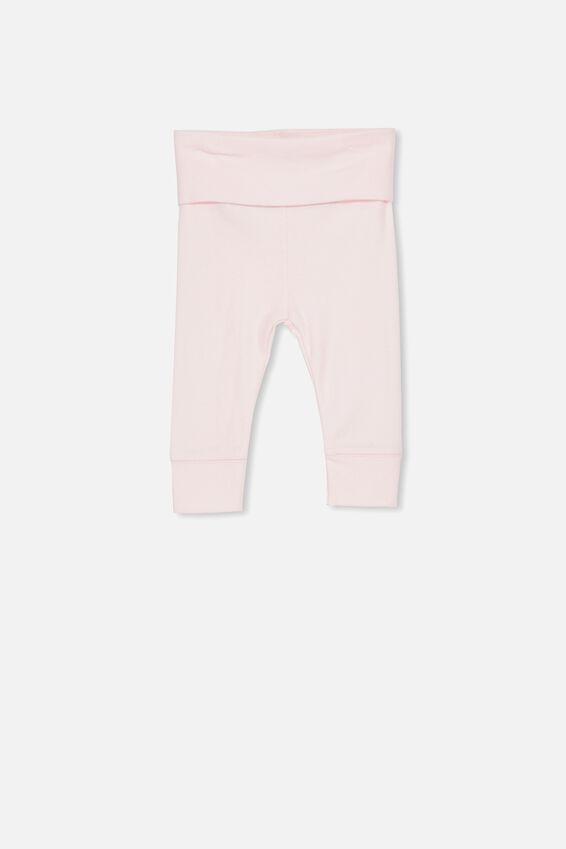 Newborn Essentials Legging, BABY PINK