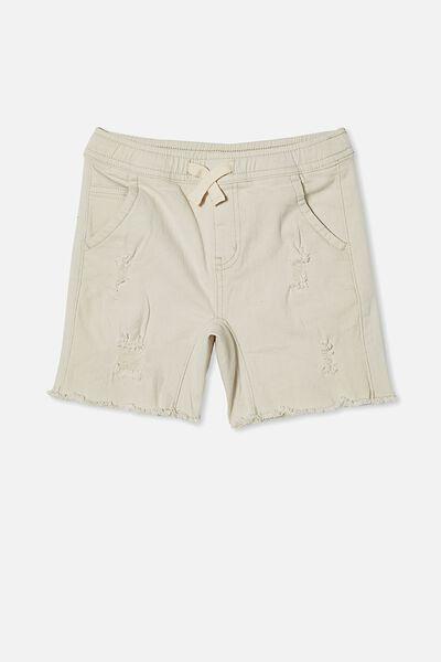Street Slouch Short, ECRU