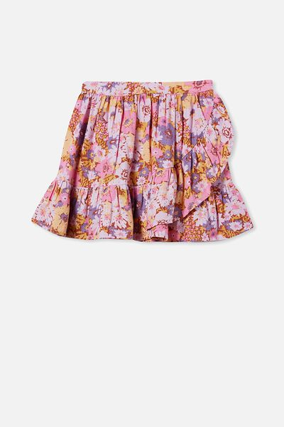 Kali Skirt, CHUTNEY/POP FLORAL