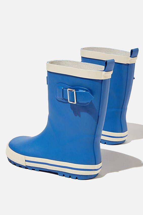 Fashion Golly, RETRO BLUE ECRU