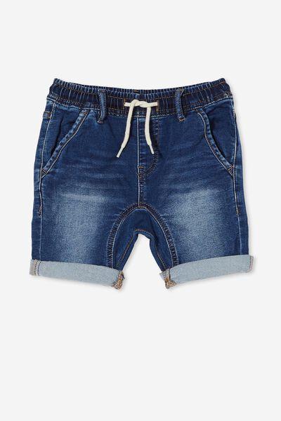 Slouch Fit Short, SORRENTO DARK BLUE