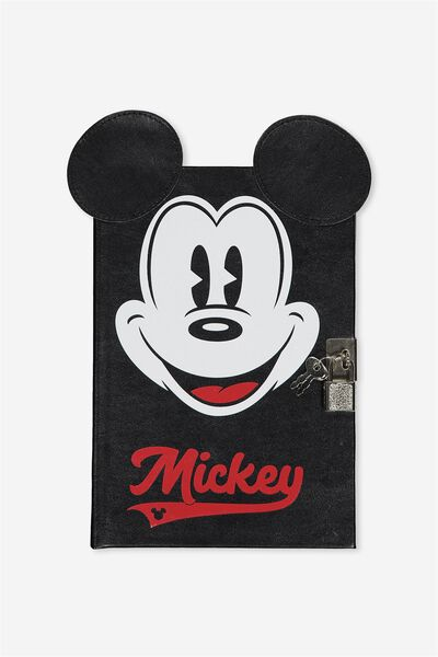 Kids A5 Lockable Sketchbook, LCN MICKEY
