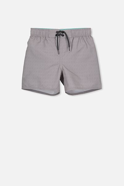 Bailey Boardshort, SHARK/GREY MARLE