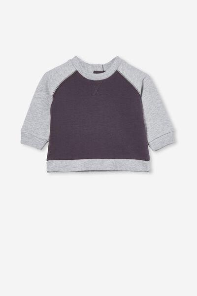 Tate Sweater, RABBIT GREY/CLOUD MARLE