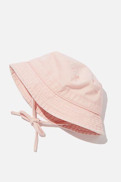 Baby Bucket Hat, MARSHMELLOW PINK