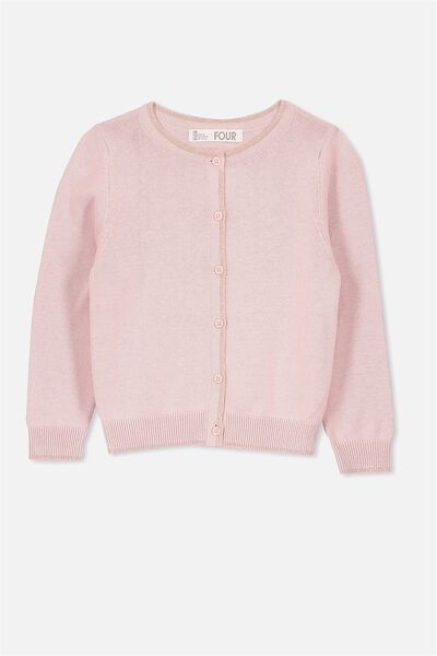 Suzie Cardigan, SILVER PINK/ROSE GOLD