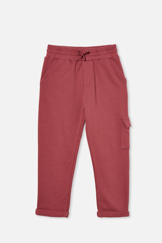 Cargo Trackpant, VINTAGE BERRY