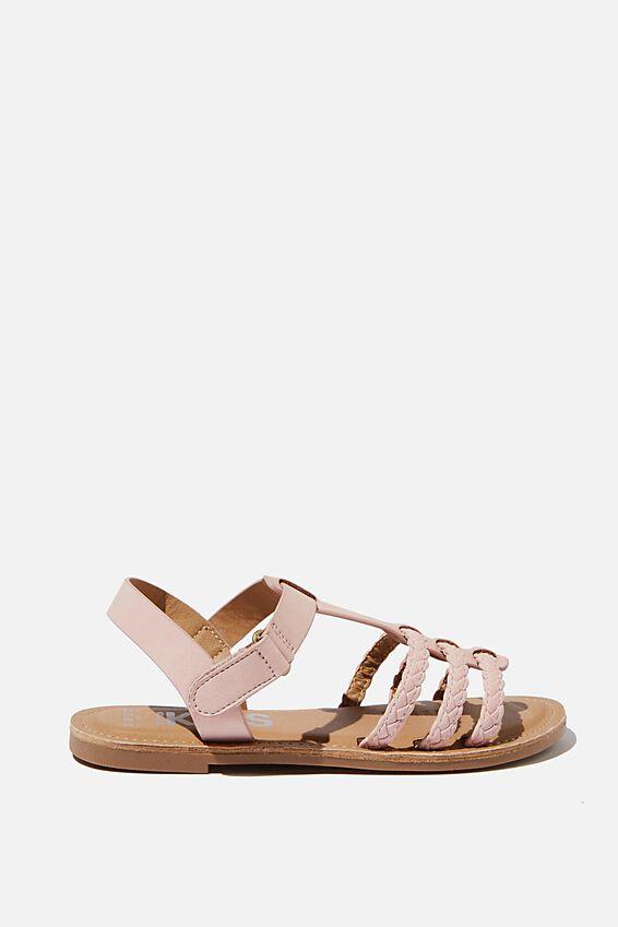 Woven Braid Sandal, ZEPHYR PINK