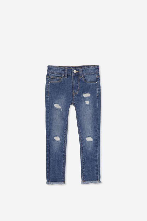 Drea Jeans, MID WASH/R&R