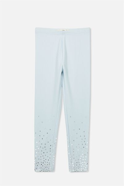 Huggie Leggings, YOLO BLUE/GRADIENT STARS