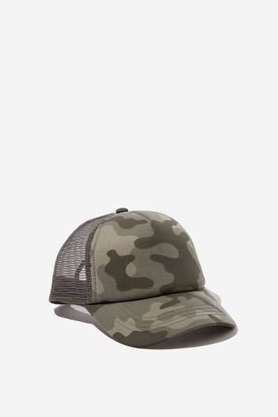 Kids Trucker Cap, NEW CAMO