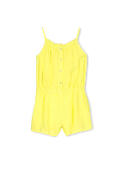 Callie Short Jumpsuit, LEMON GELATO
