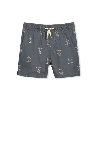 Murphy Swim Short, GRAPHITE/SKATE FLAMINGO