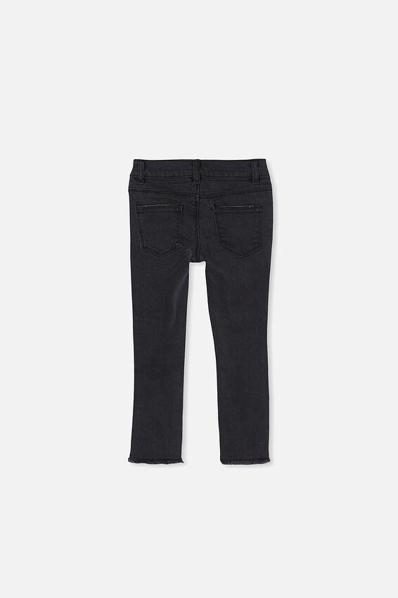 Drea Skinny Jean, BLACK WASH/RIPS