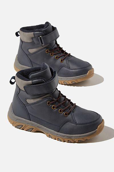 Trekker Hybrid Boot, NAVY BLAZER