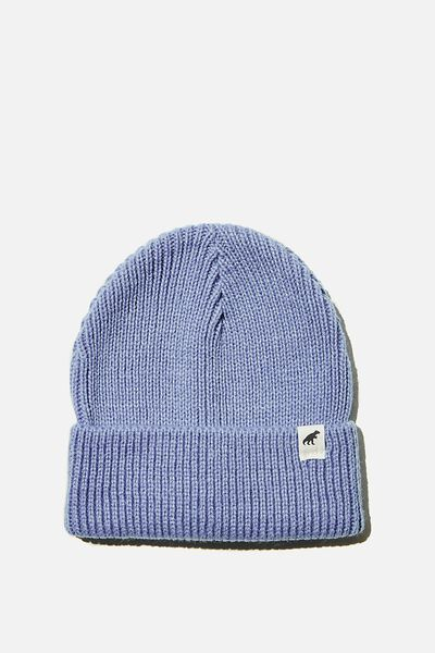 Winter Knit Beanie, DUSK BLUE