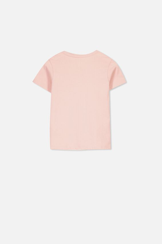 Core Ss Tee, SILVER PINK