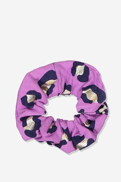 Scrunchie, PINK LEOPARD