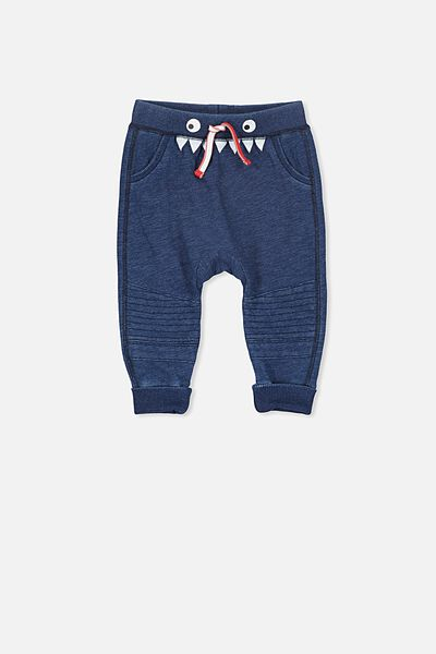 Shelby Trackpant, INDIGO BLUE/BIKER