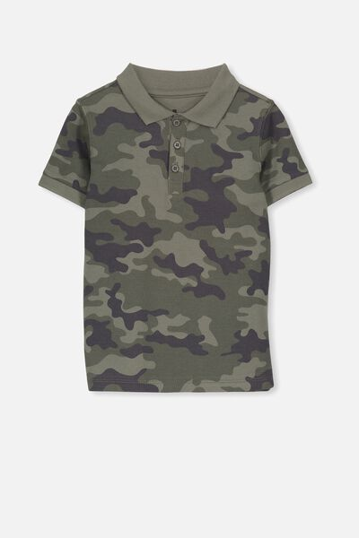 Kenny 3  Polo, CAMO YARDAGE