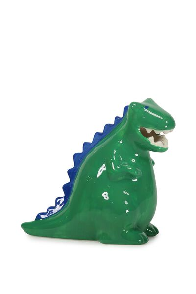 Dinosaur Money Box, GREEN