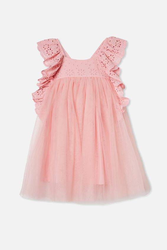 Isabell Dress Up Dress, DUSTY PINK