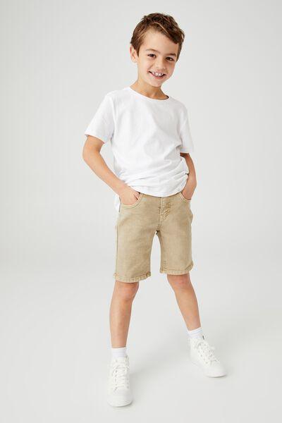 Slim Fit Short, BRONTE STONE