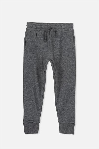 Lewis Trackpant, CHARCOAL MARLE