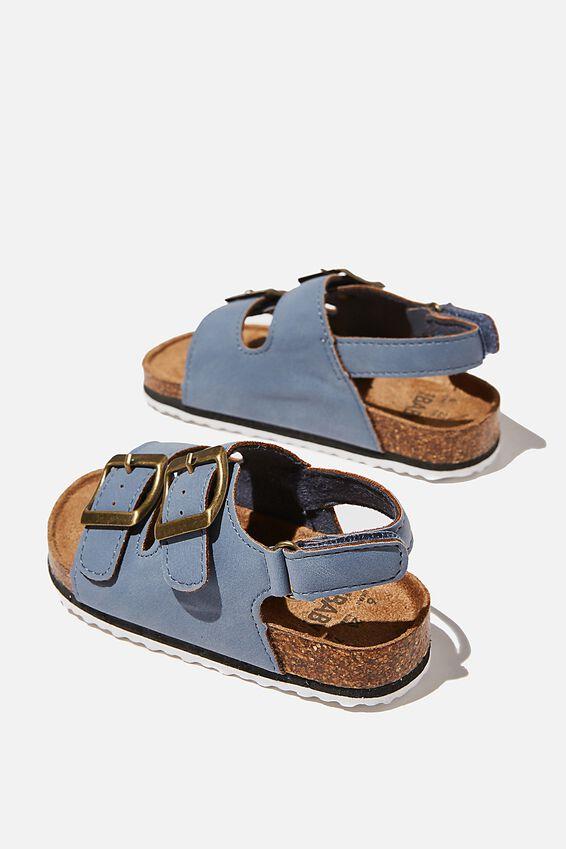 Mini Theo Sandal, DUSTY BLUE