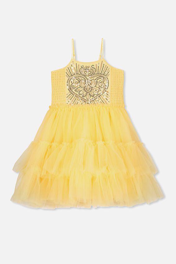 Belle Iris Tulle Dress, LCN DIS/BELLE