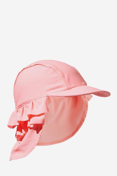 Swim Hat, PINK GRAPEFRUIT