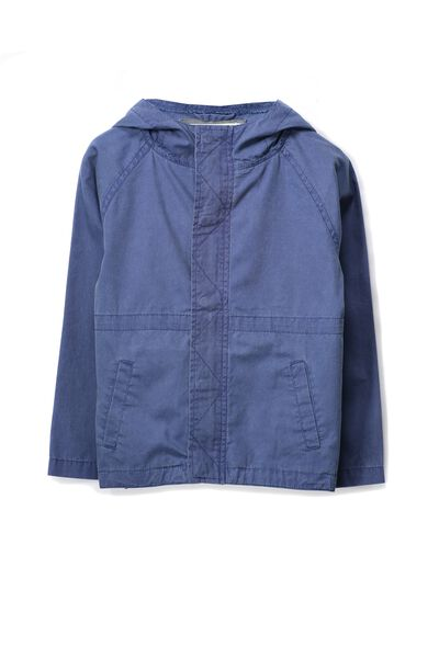Lincoln Utility Jacket, WASHED INDIGO