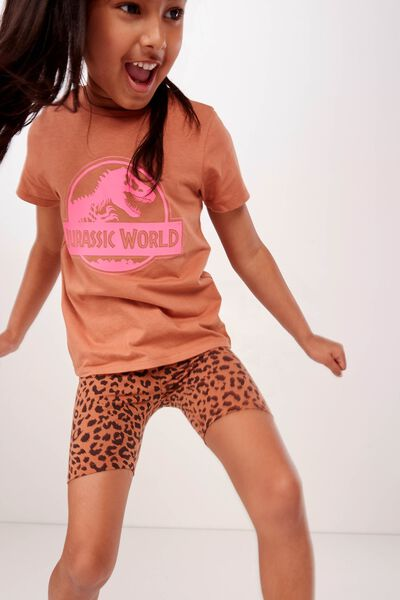 Hailey Short, AMBER BROWN/LEOPARD