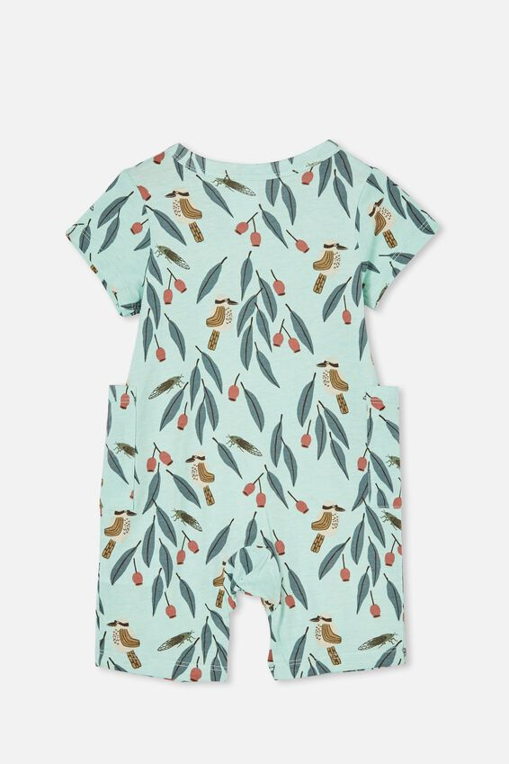Beau Playsuit, DUCK EGG/KEVIN KOOKABURRA