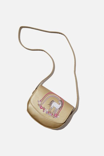 Ashley Party Bag, EMBROIDERED UNICORN